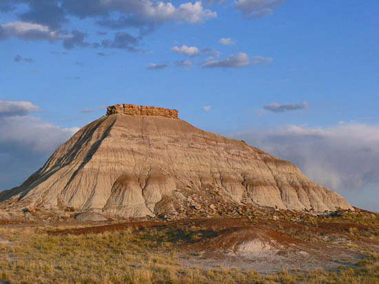 The Painted Desert Wilderness Unit offers unlimited exploration of the open desert