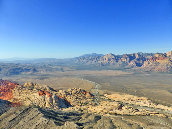 View from the summit of Turtlehead Peak (6,323')