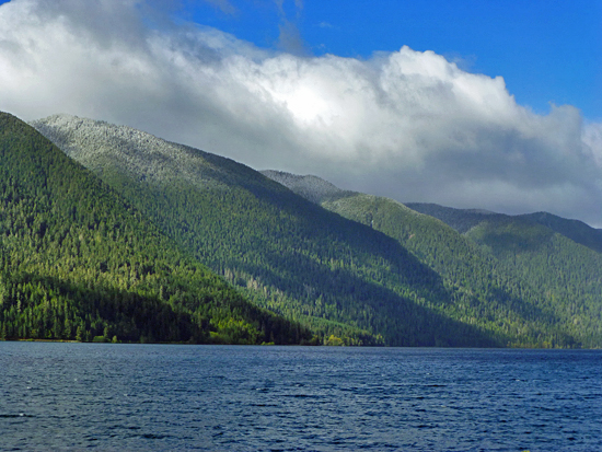 Riprap projects at Lake Crescent in Olympic National Park